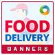 Food Delivery Service Banners