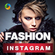 Fashion Instagram Templates - 10 Designs
