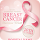 Breast Cancer Awareness Month Flyer - GraphicRiver Item for Sale