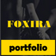 Foxira Personal Portfolio - ThemeForest Item for Sale