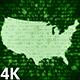 USA Map Digital 4K (2 in 1) - VideoHive Item for Sale