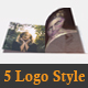 Unfold Logo Reveal (5in1) - VideoHive Item for Sale