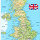 United Kingdom Physical Map - GraphicRiver Item for Sale