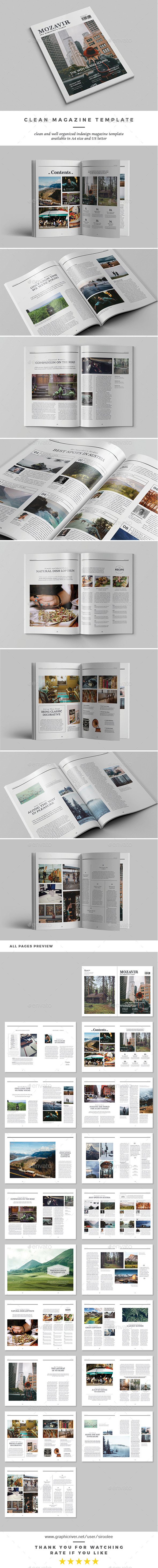 GraphicRiver Mozavir Magazine 20683620