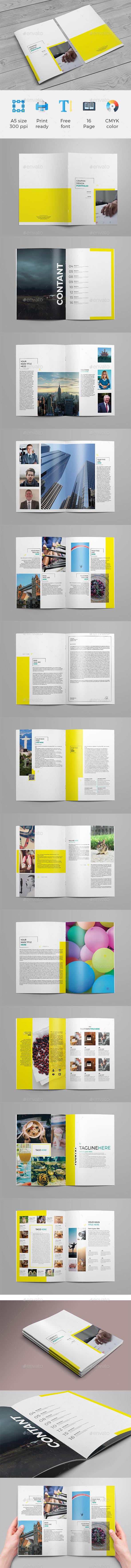 GraphicRiver A4 Brochure 20683632