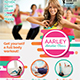 Women Aerobic / Fitness Flyer
