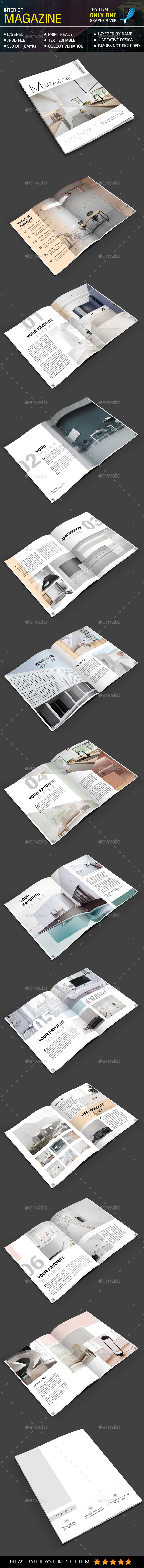 GraphicRiver Minimal Interior Magazine 20683658