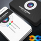 Camera Business Card - GraphicRiver Item for Sale
