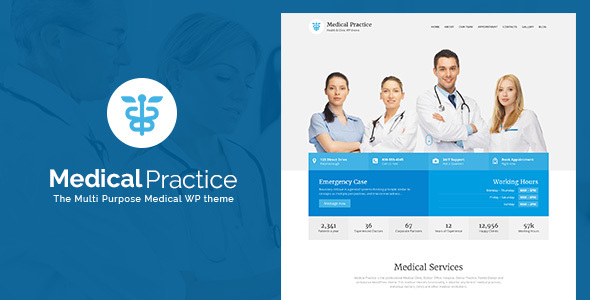 Medical Practice - Health & Clinic theme