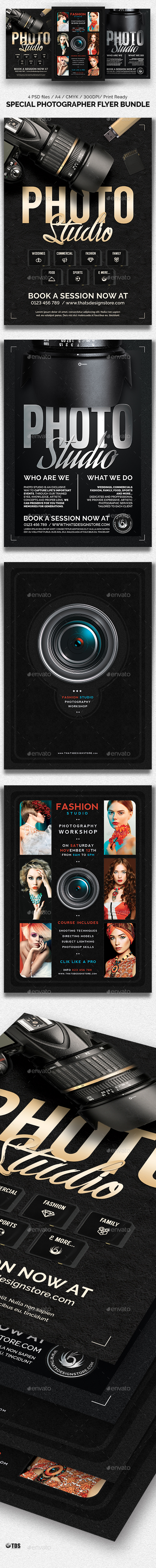 Special Photographer Flyer Bundle - Corporate Flyers