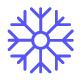 Winter Snowflake Line Icons