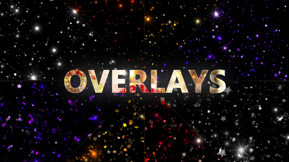 VideoHive Overlays Glittering Particles 20683873