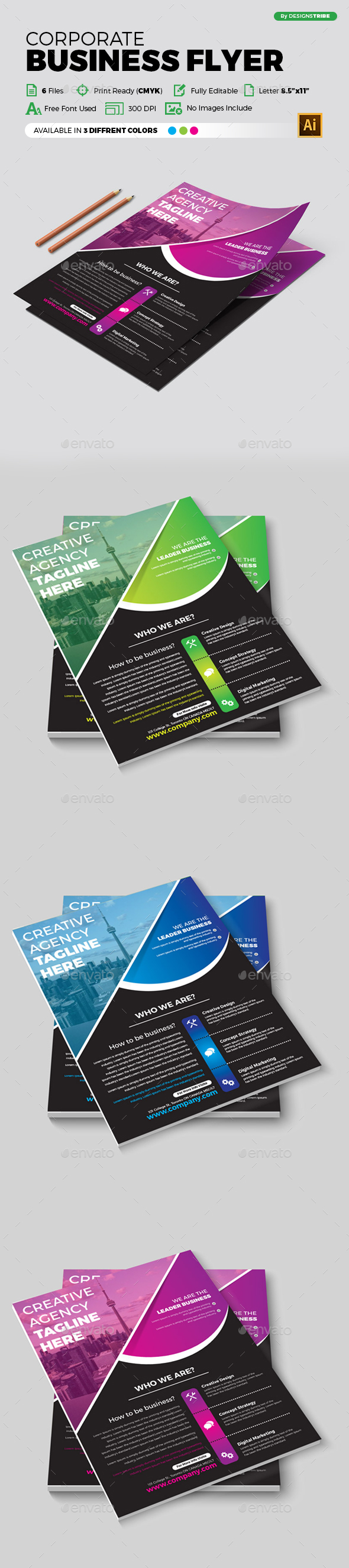 Flyer – Multipurpose 344 - Corporate Flyers