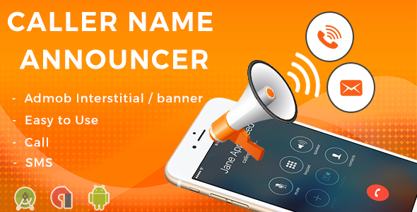 CodeCanyon Caller Name Announcer Android App & Admob Integration 20683902