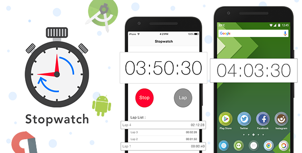 Android Stop Watch + Admob ad integration - CodeCanyon Item for Sale