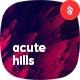 Abstract Acute Hills Backgrounds - GraphicRiver Item for Sale
