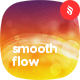 Abstract Bright Smooth Flow Backgrounds