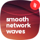 Abstract Smooth Network Waves Backgrounds - GraphicRiver Item for Sale