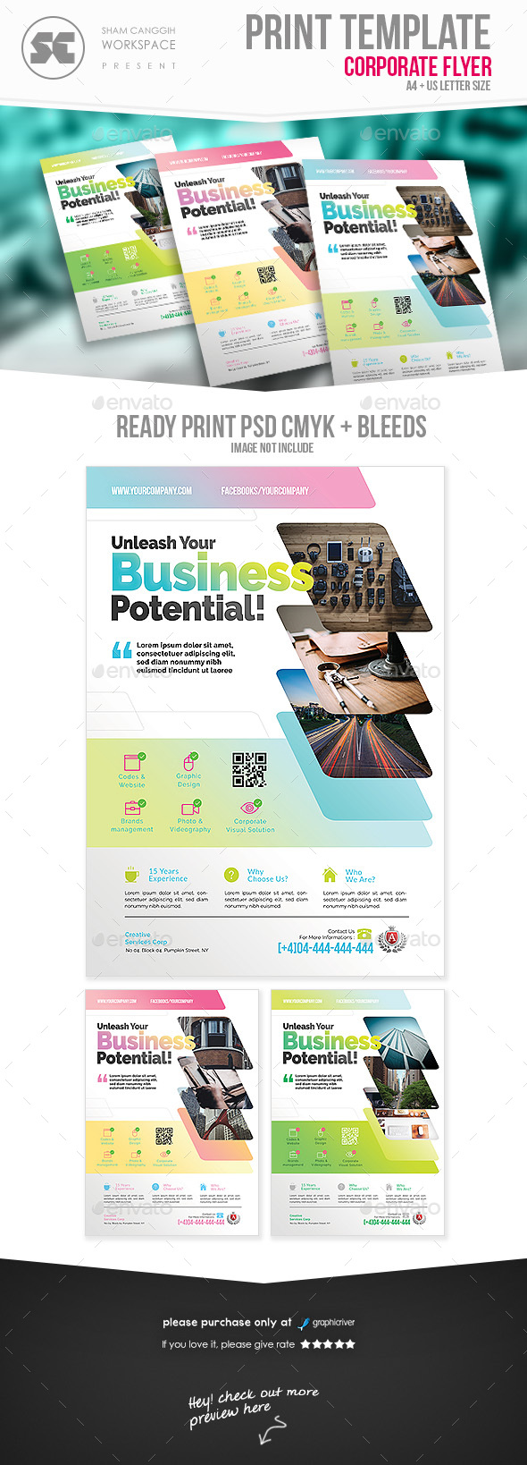 GraphicRiver Corporate Flyer 20684299