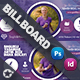 Healthy Life Billboard Templates - GraphicRiver Item for Sale