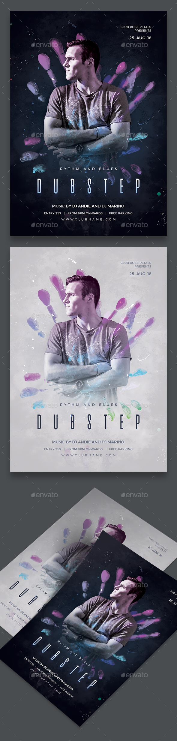 Dubstep Party Flyer - Clubs & Parties Events