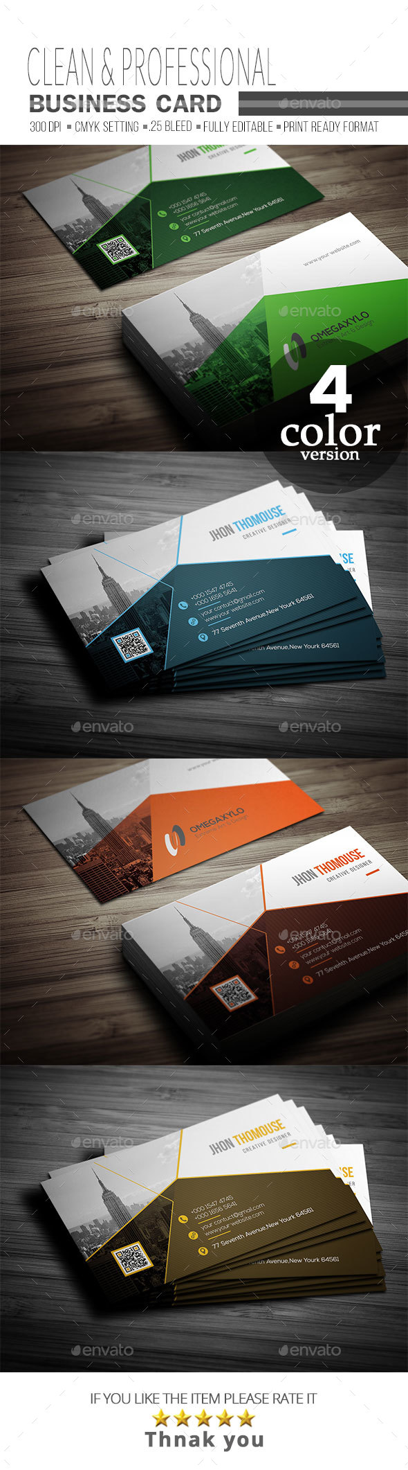 GraphicRiver Business Card 20684916
