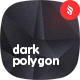 Abstract Dark Polygon Backgrounds - GraphicRiver Item for Sale