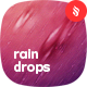 Motion of Raindrops Backgrounds