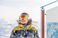 Young man in ski goggles outdoors - PhotoDune Item for Sale