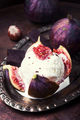 ice cream with figs - PhotoDune Item for Sale