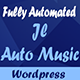 Auto Mp3 Music Search Engine Wordpress Plugin