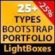 Responsive Bootstrap Portfolio And Lightbox