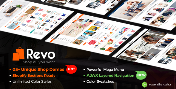 Revo - Responsive Shopify Sections Theme