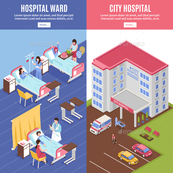 GraphicRiver Hospital Vertical Banners Set 20685710