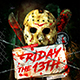 Friday the 13th Party Flyer