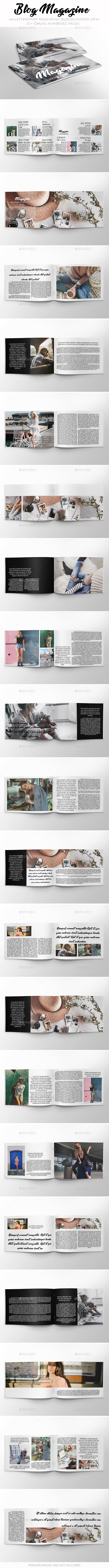 GraphicRiver Blog Magazine 20685747
