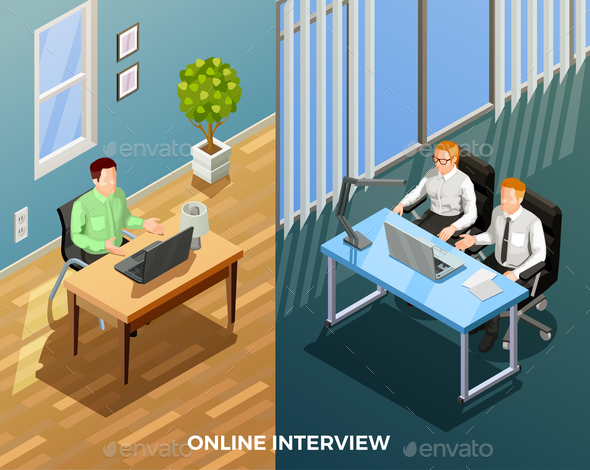 GraphicRiver Online Job Talk Composition 20685767
