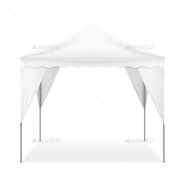 Realistic Outdoor Tent - Man-made Objects Objects