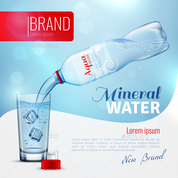 GraphicRiver Mineral Water Advertising Brand Poster 20685876