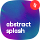 Abstract Splash Backgrounds