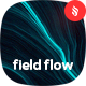 Neon Field Flow Backgrounds