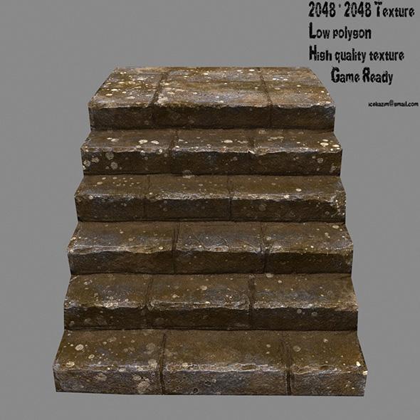 Stairway 19 - 3DOcean Item for Sale