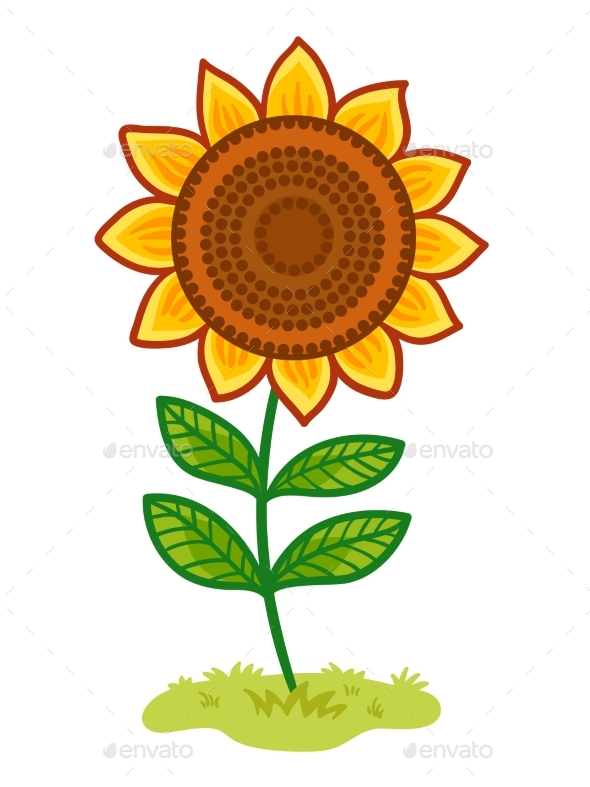 GraphicRiver The Sunflower Is in the Clearing 20686158