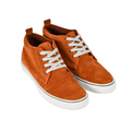 Orange vans shoes isolated on white with path - PhotoDune Item for Sale
