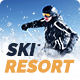 Snow Mountain | Ski Resort & Snowboard School - ThemeForest Item for Sale