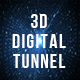 3D Digital Tunnel - VideoHive Item for Sale