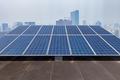 solar energy and modern city - PhotoDune Item for Sale