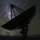 Radio Telescope Starry Night Timelapse - VideoHive Item for Sale
