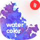 Flat Gradient Watercolor Backgrounds - GraphicRiver Item for Sale