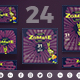 Grand Zombie Party Social Media Pack - GraphicRiver Item for Sale
